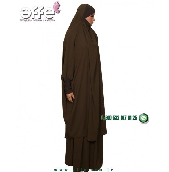 Affe Afgan Cilbabı - Haki Renk