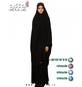Afgan Cilbabı Takım - Lastikli Kol