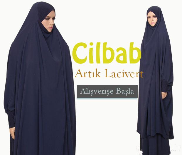 Lacivert Cilbab